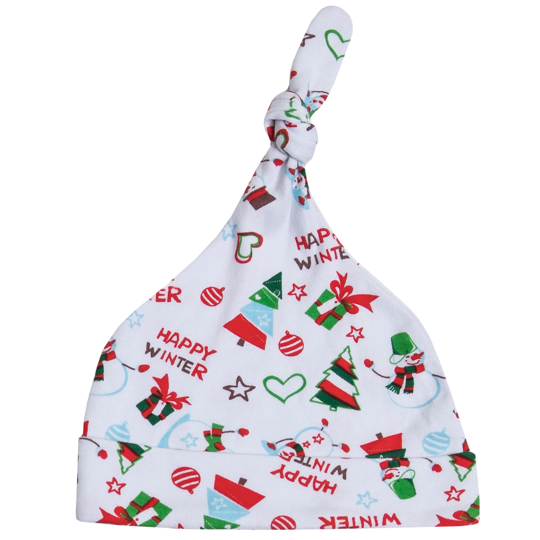 Купить Первые вещи новорожденного, «Приключения снеговиков», белая с рисунком, Barkito, Россия, white