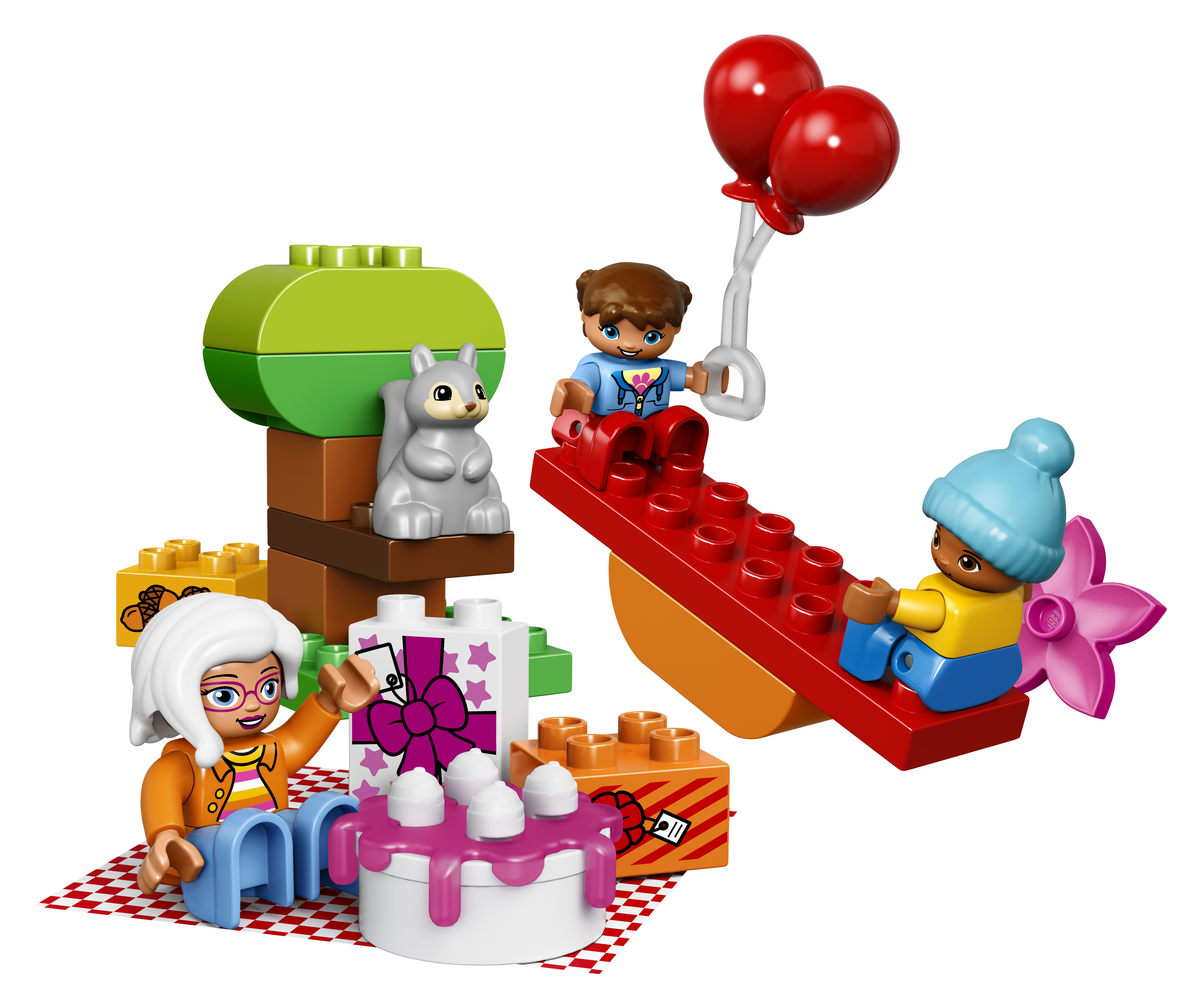 Конструктор LEGO Duplo Town 10832 День рождения lego duplo lego 10873 день рождения минни