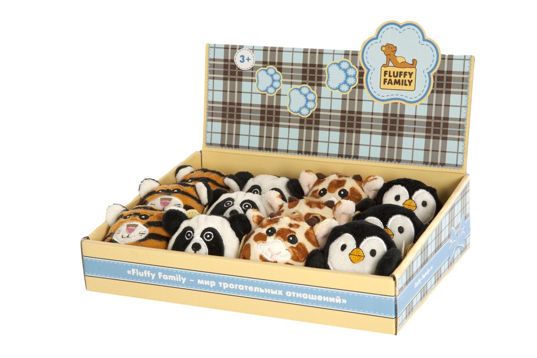 Мягкие игрушки Fluffy Family Мягкая игрушка   «Круглики дикие» в асс.