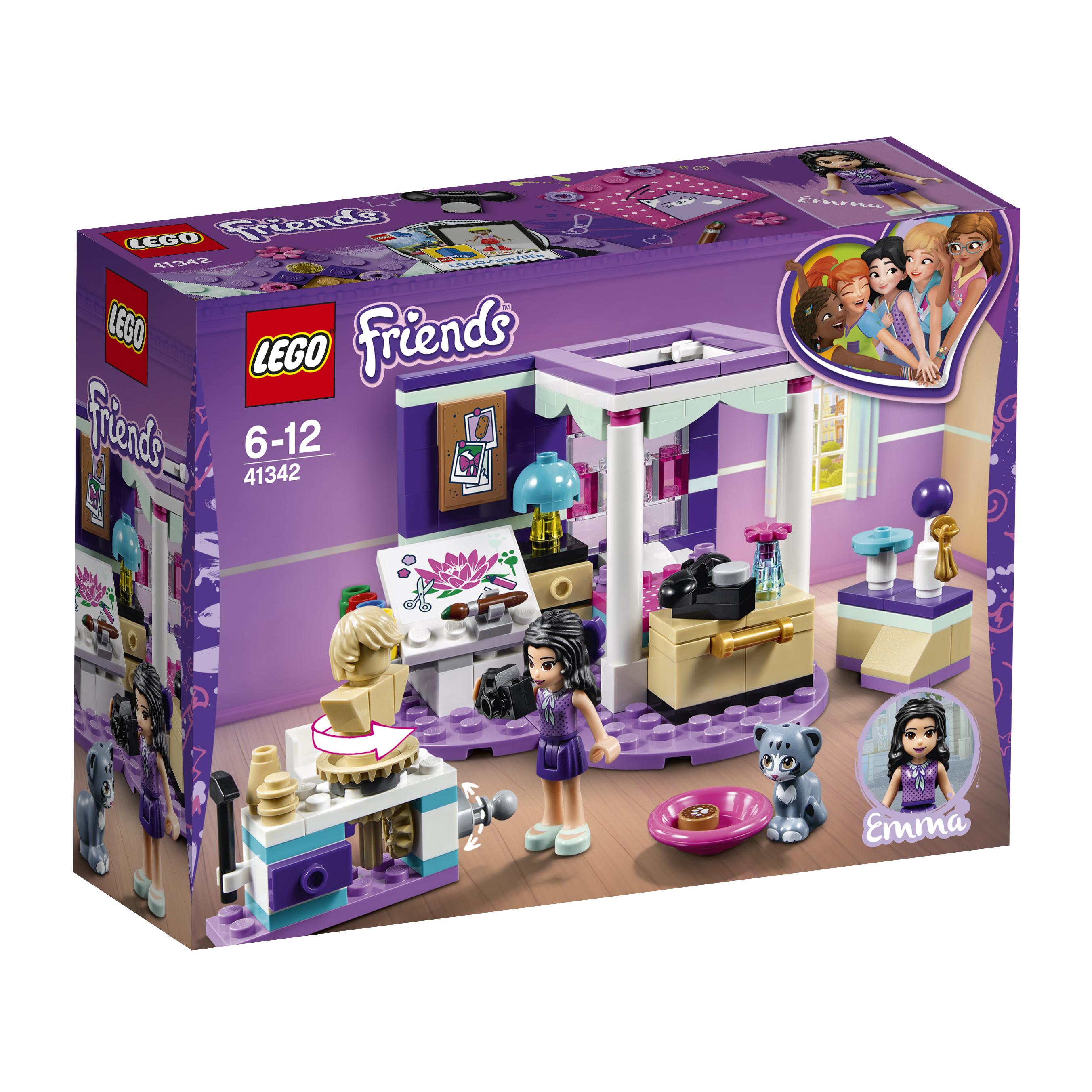 Конструктор LEGO Friends 41342 Комната Эммы цена