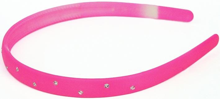 Украшения Принчипесса Ободок для волос Принчипесса со стразами розовый s'cool ободок