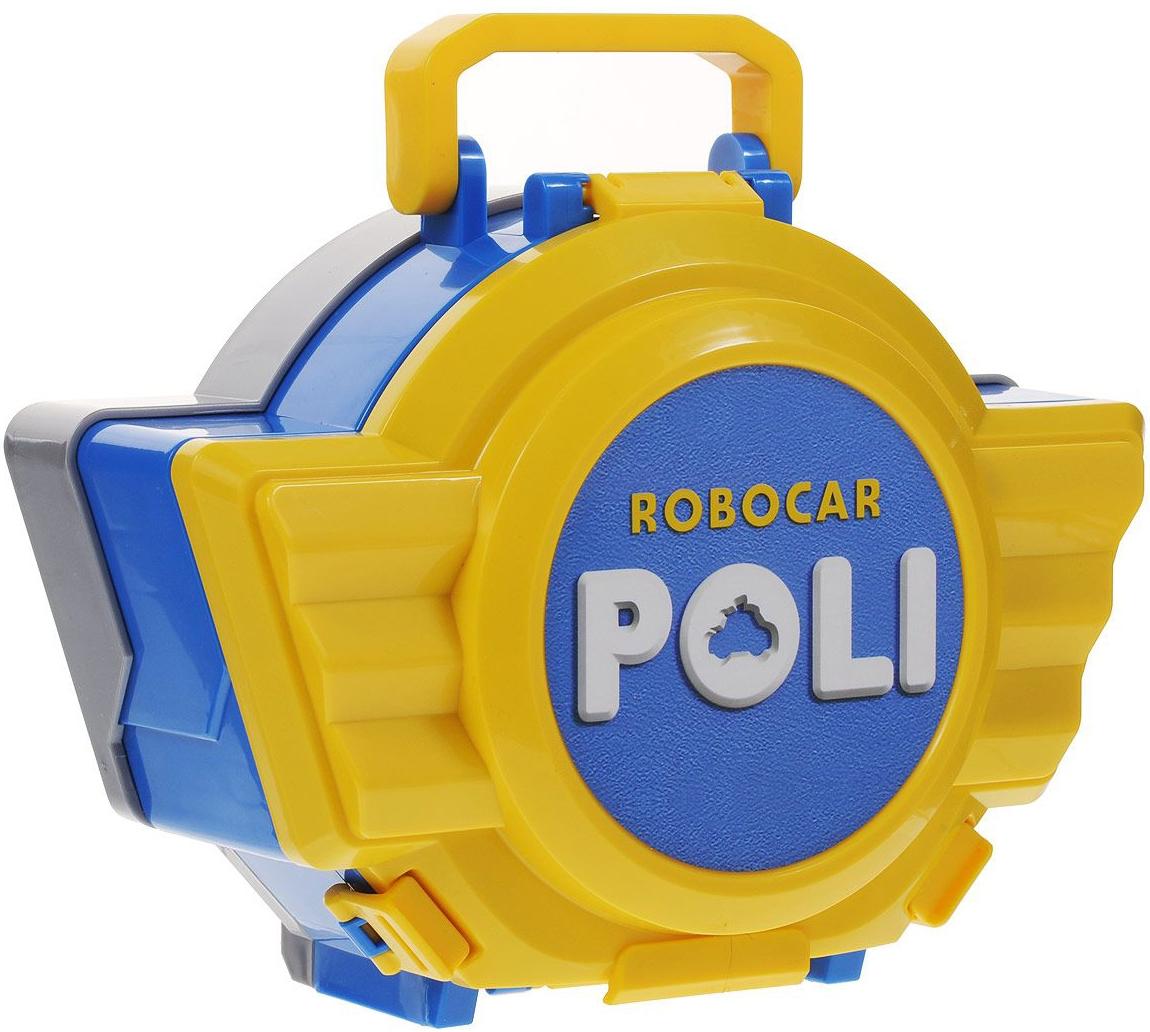 Машинки и мотоциклы Poli Robocar Поли robocar poli игровой набор кейс с трансформером поли