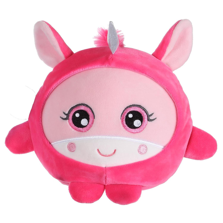 Мягкая игрушка 1toy Плюш. Розовый единорог» 20 см