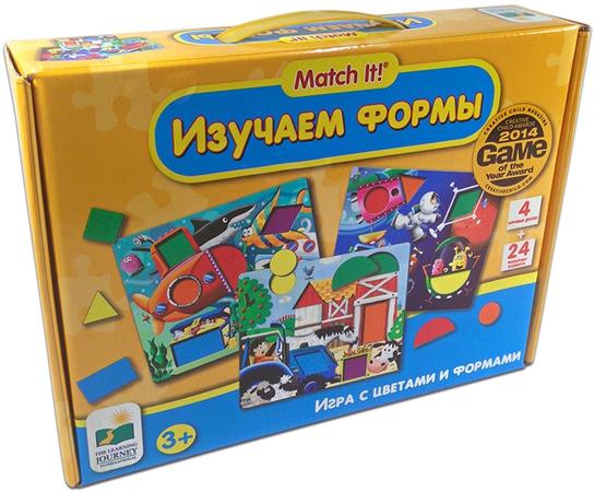 Пазлы Learning Journey Изучаем формы - Игра с цветами и формами стоимость