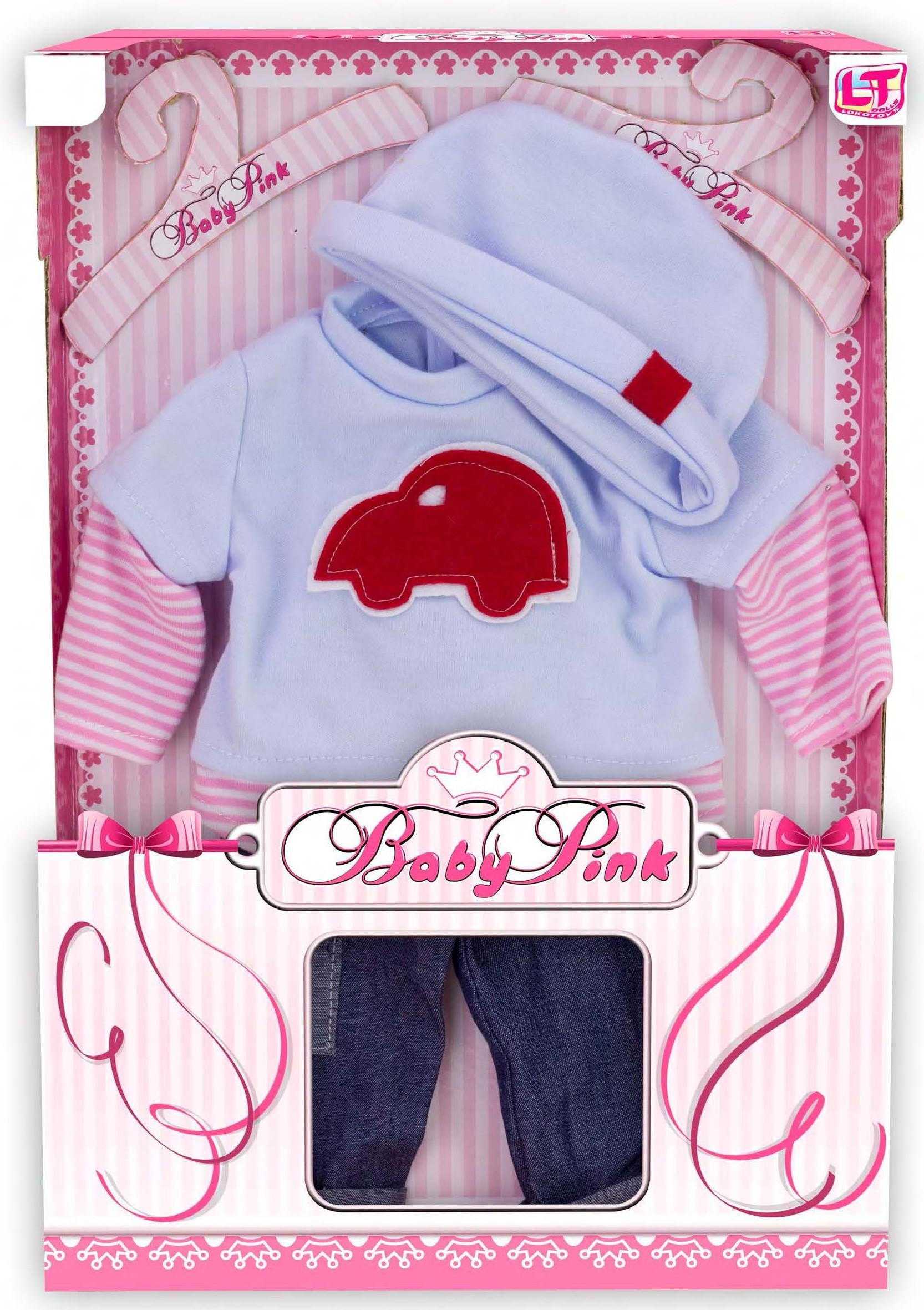 Одежда для кукол LokoToys Одежда для куклы мальчика Baby Pink - 98220 цена