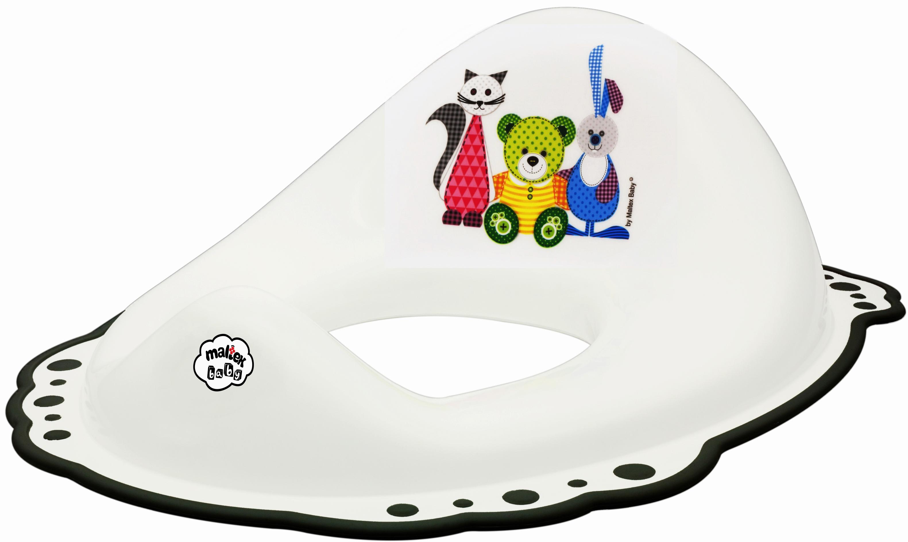 Фото - Накладка на унитаз Be2Me Мишка сиденья для унитаза okt накладка на унитаз лесные животные