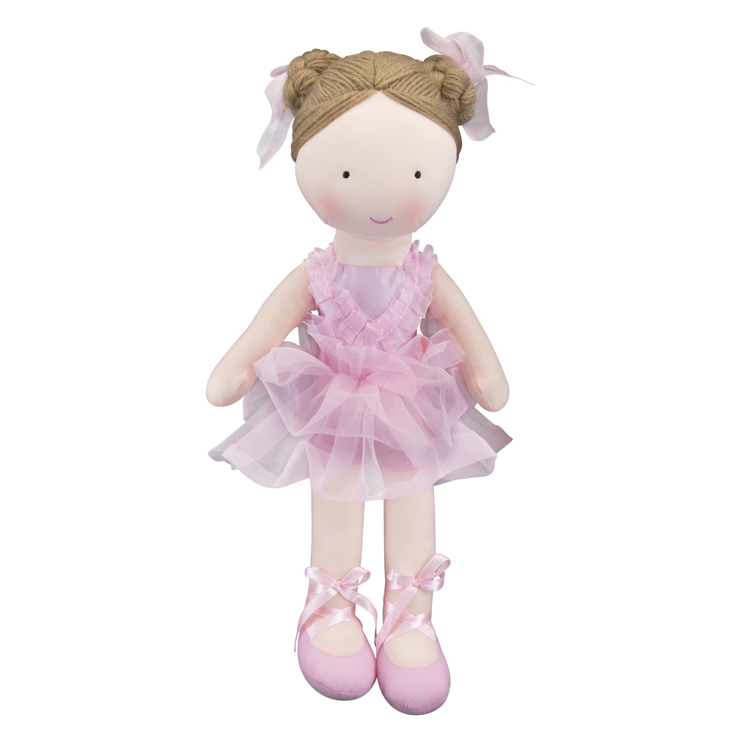 Мягкие игрушки Мир детства Мягкая игрушка Мир детства «Кукла Балерина» мягкие игрушки simba мягкая игрушка грибок 15см 8 32