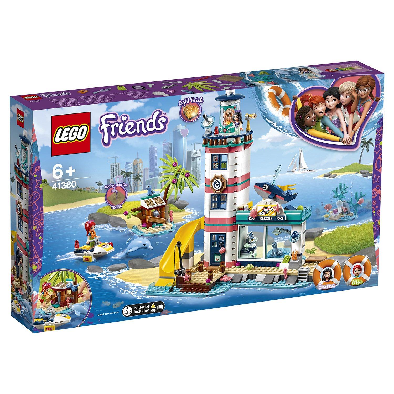 Конструктор LEGO Friends 41380 Спасательный центр на маяке цена