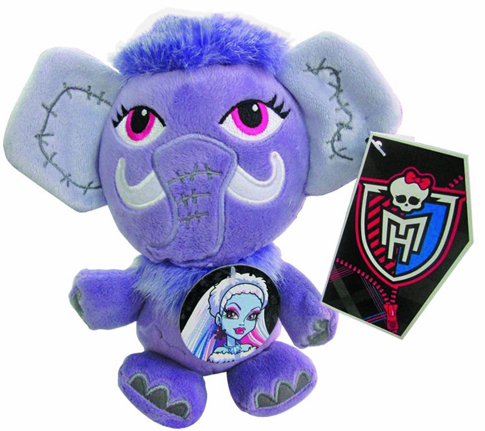 "Мягкие игрушки Monster High Мягкая игрушка 1toy Monster High Мамонт ""Шивер"" 18 см 1toy monster high"