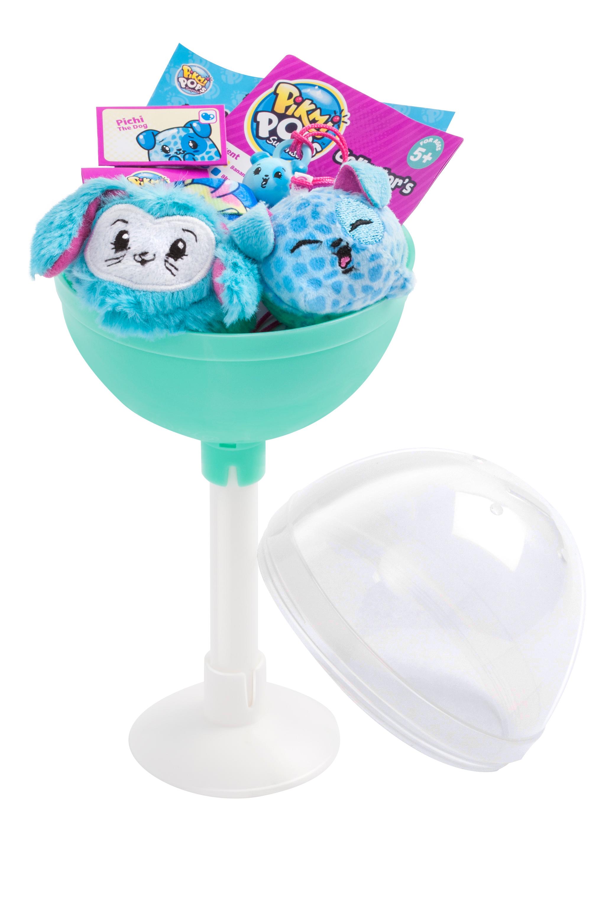 Купить Мягкие игрушки, Игровой набор Moose «Pikmi Pops»с двумя героями в асс., Китай, разноцветный
