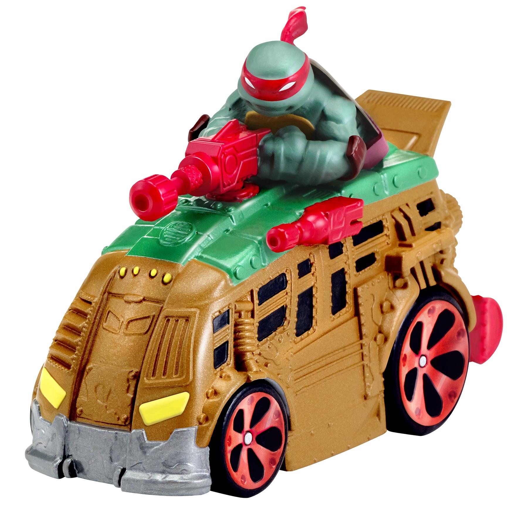 Черепашки Ниндзя Черепашки Ниндзя Машинка Ninja Turtles 7 см в ассортименте игровые фигурки turtles машинка черепашки ниндзя 7 см сплинтер на атаке сенсея