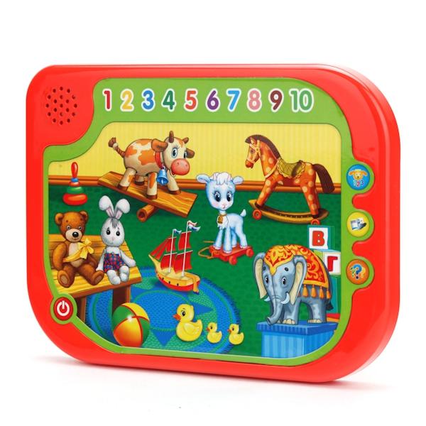 Обучающие Умка QC1324R развивающая игрушка умка обучающий планшет со стихами а барто