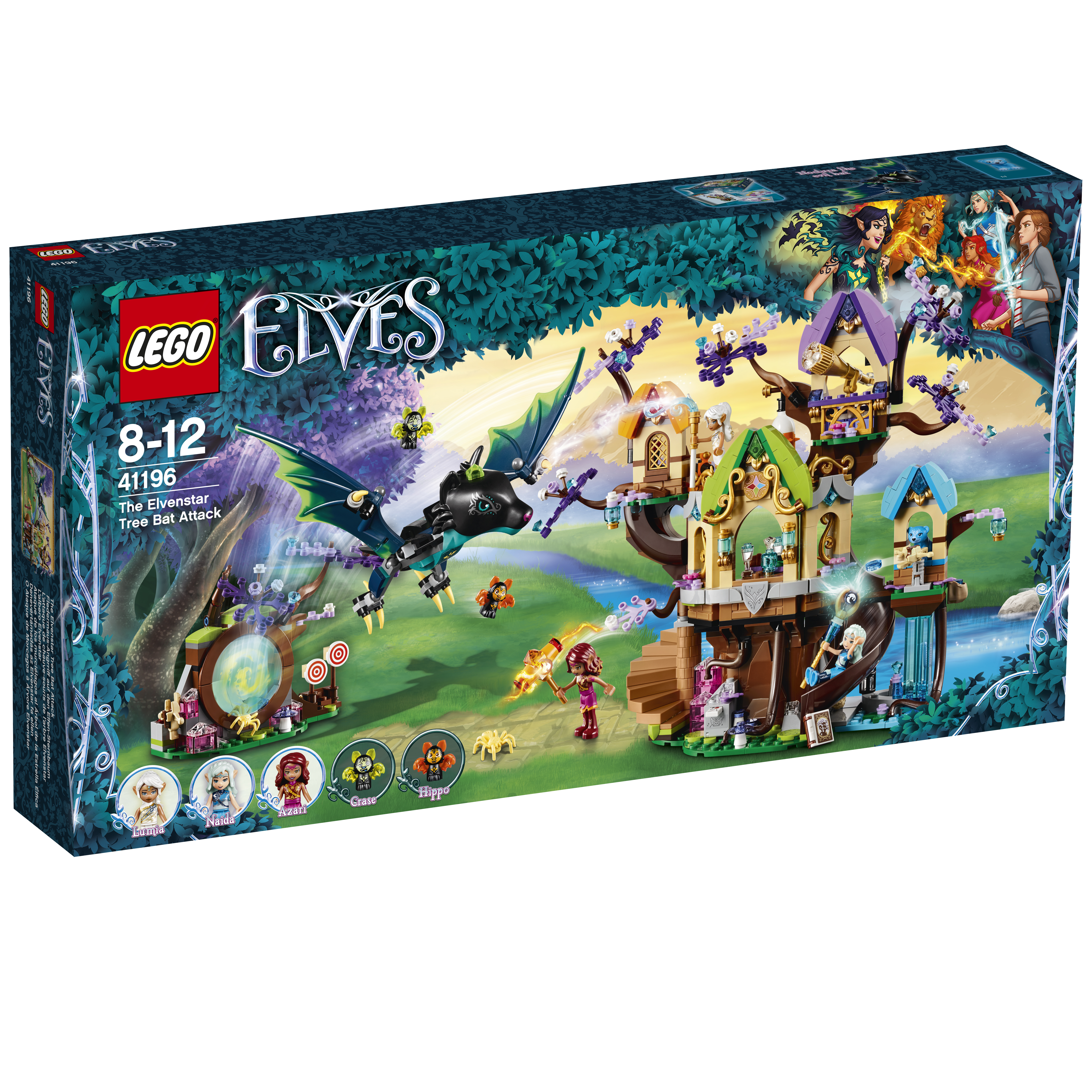 LEGO LEGO Нападение летучих мышей на Дерево эльфийских звёзд discovery хуже быть не могло неисправные тормоза нападение человека линии электропередач нападение собак