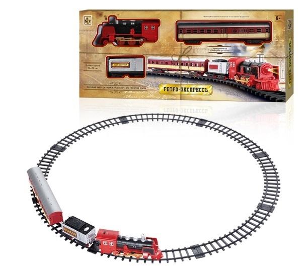 Железные дороги и паровозики 1toy Ретро Экспресс Т10146 железные дороги и паровозики thomas