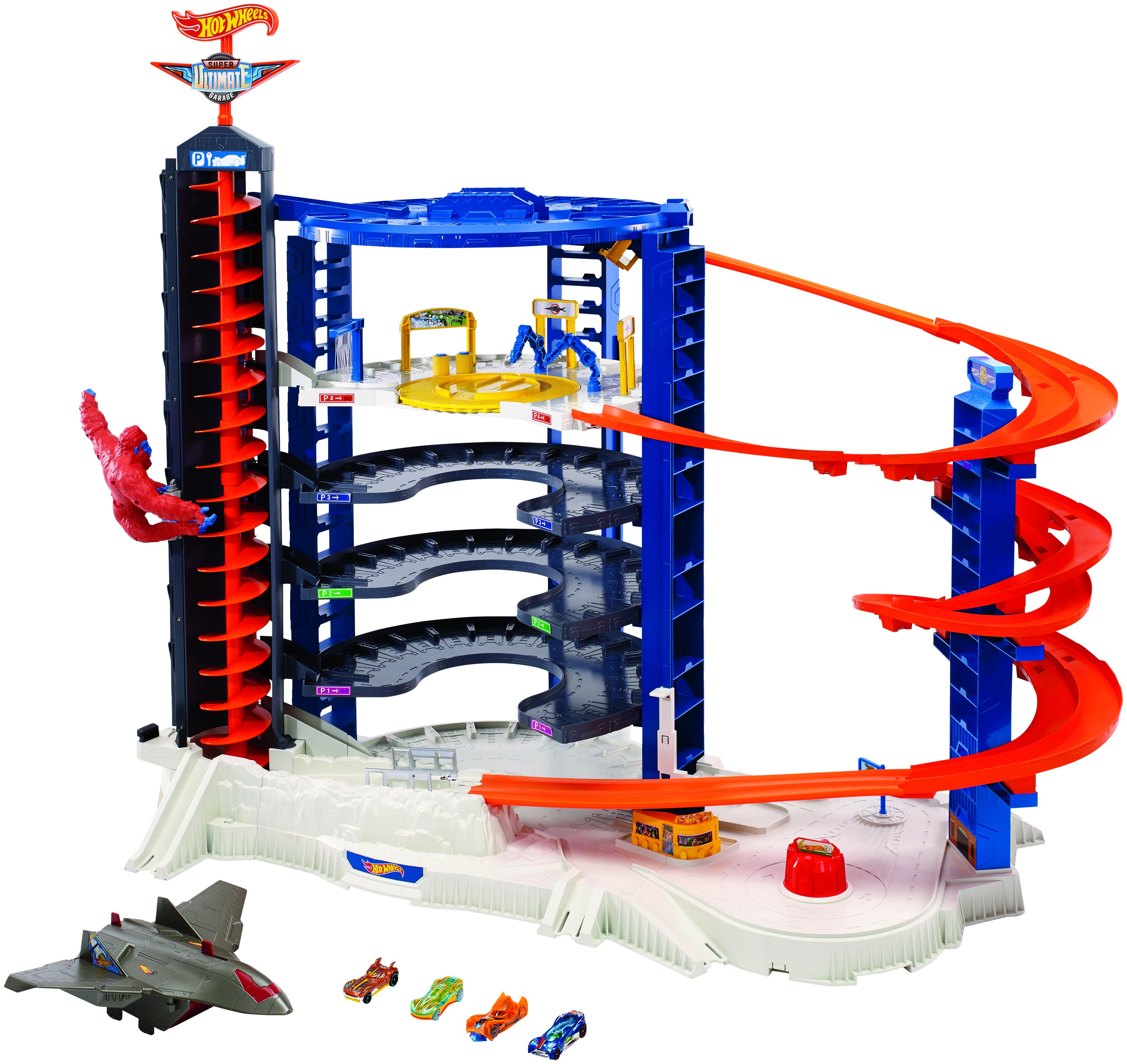 Гаражи и игровые наборы Hot Wheels Игровой набор Hot Wheels «Невообразимая Башня» игровые наборы vtech игровой набор аэропорт 80 144126