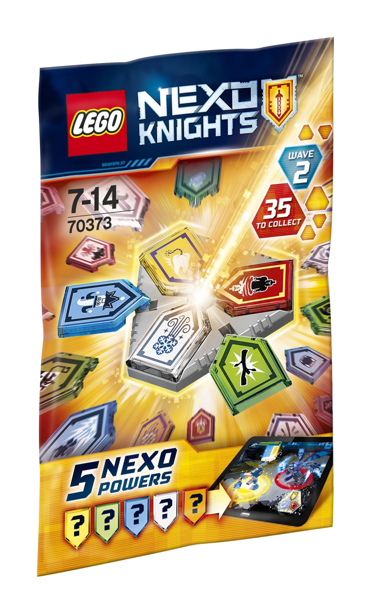 Конструктор LEGO Комбо NEXO Силы-2 полугодие lego lego nexo knights 70372 комбо nexo силы