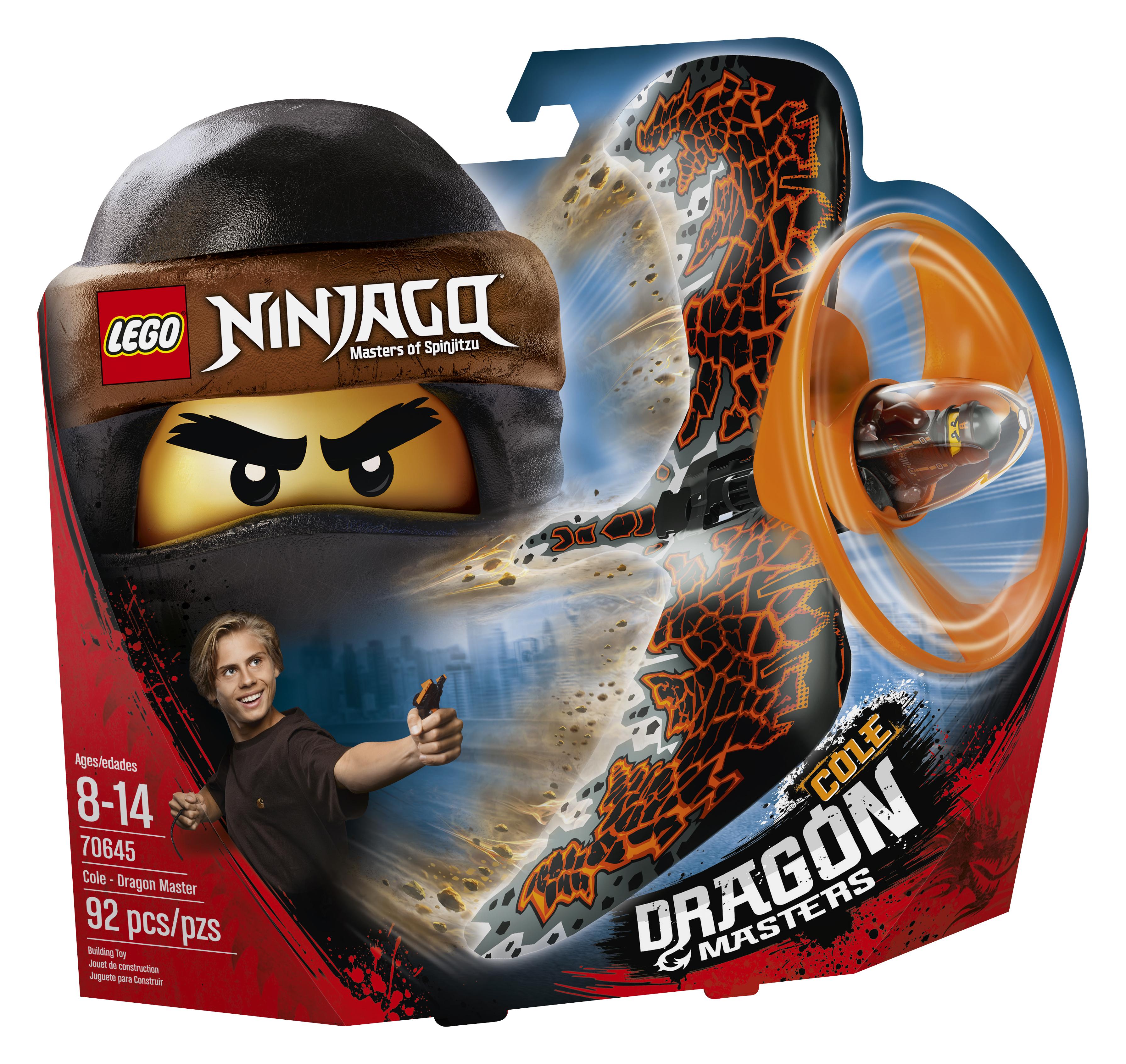 LEGO LEGO Конструктор LEGO Ninjago 70645 Коул-Мастер дракона