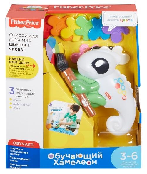 Обучающая игрушка Fisher Price Умный хамелеон-сканер fisher price infant каталка обучающая черепашка на колесиках
