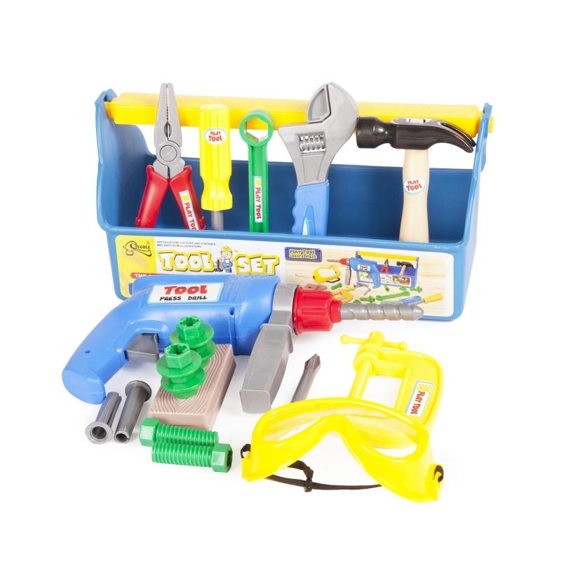 Игровой набор инструментов Altacto «Профи» 22 предметов наборы игрушечных инструментов altacto шуруповёрт
