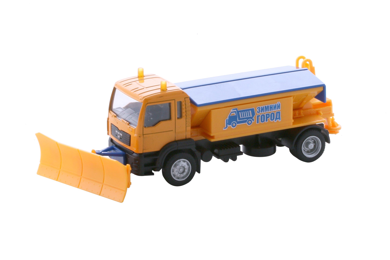 Городской транспорт WinCars Модель машины Wincars «Снегоуборщик» 1:40 сарычев а подводный спецназ сталина секретная база