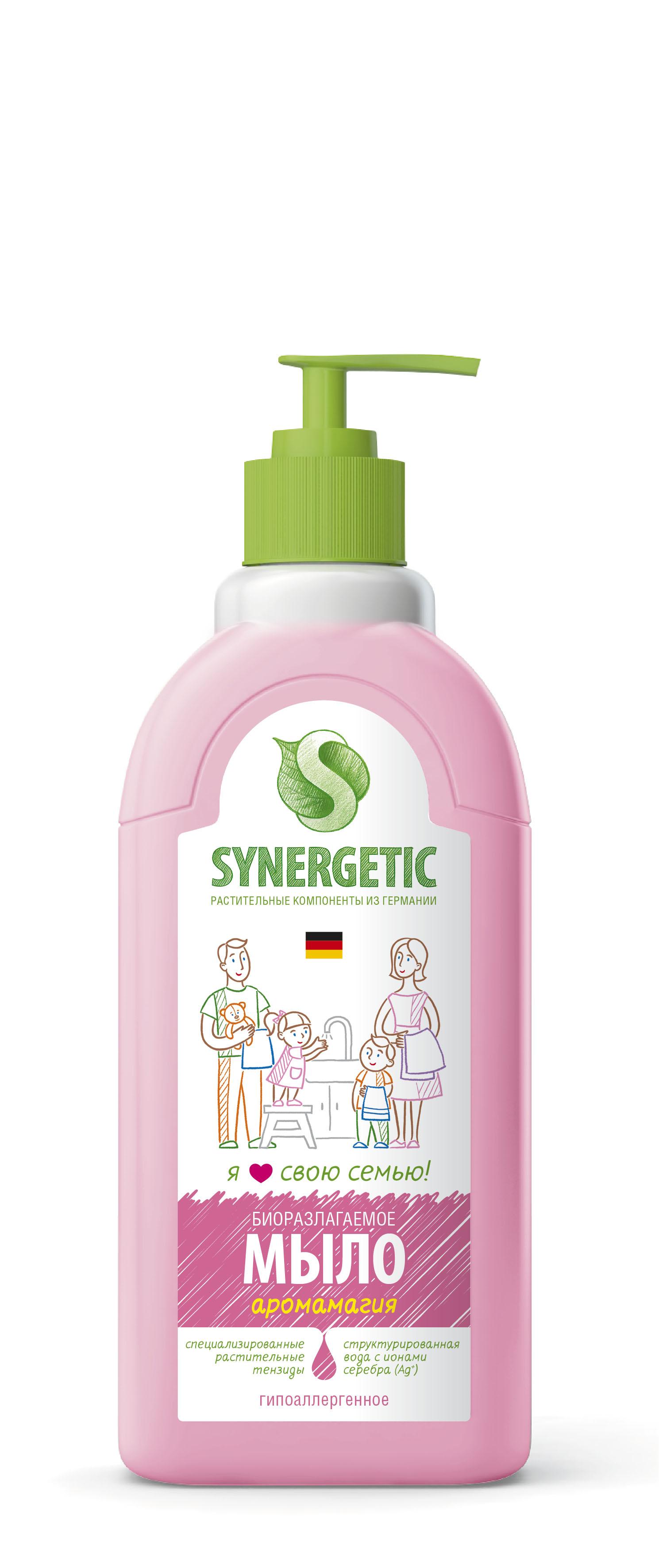 Жидкое мыло Synergetic Аромамагия 0,5 л жидкое мыло synergetic аромамагия 0 5 л