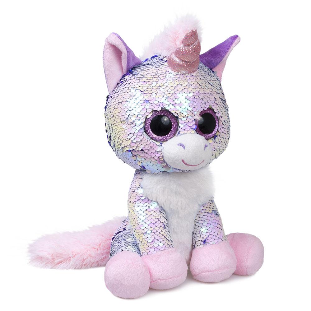 Купить Мягкая игрушка, «Единорог Жемчужина», Fancy, Китай, текстиль
