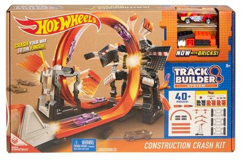Игровой набор Mattel Конструктор трасс: взрывной набор игровой набор hot wheels базовые трассы в ассортименте