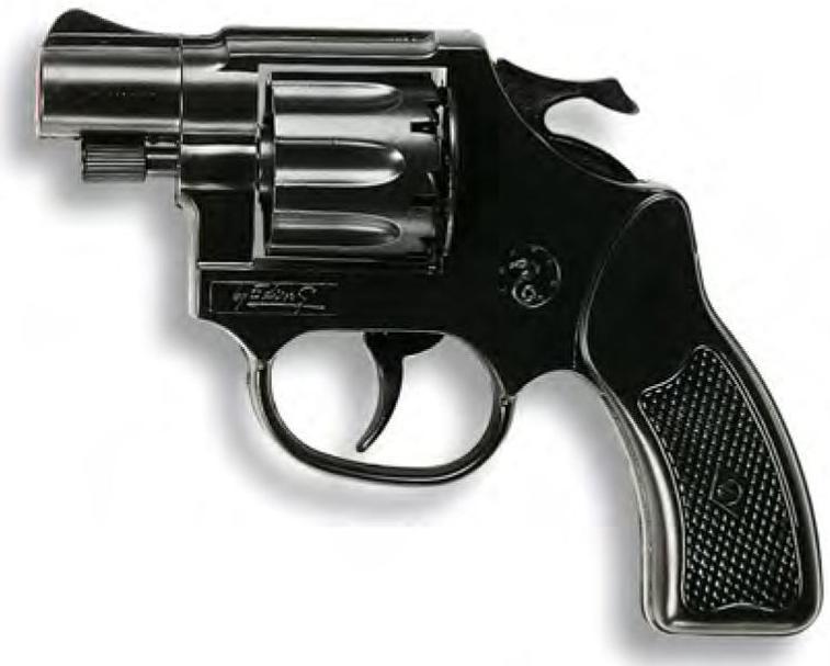 Игровые наборы Профессия Edison Giocattoli Пистолет Edison Giocattoli «Cobra Polizei» пистолет edison giocattoli long boy western
