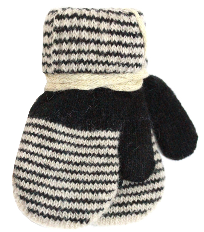 варежки перчатки и шарфы elodie details варежки 103224 103219 Варежки и перчатки Принчипесса Варежки для мальчика Принчипесса, черные