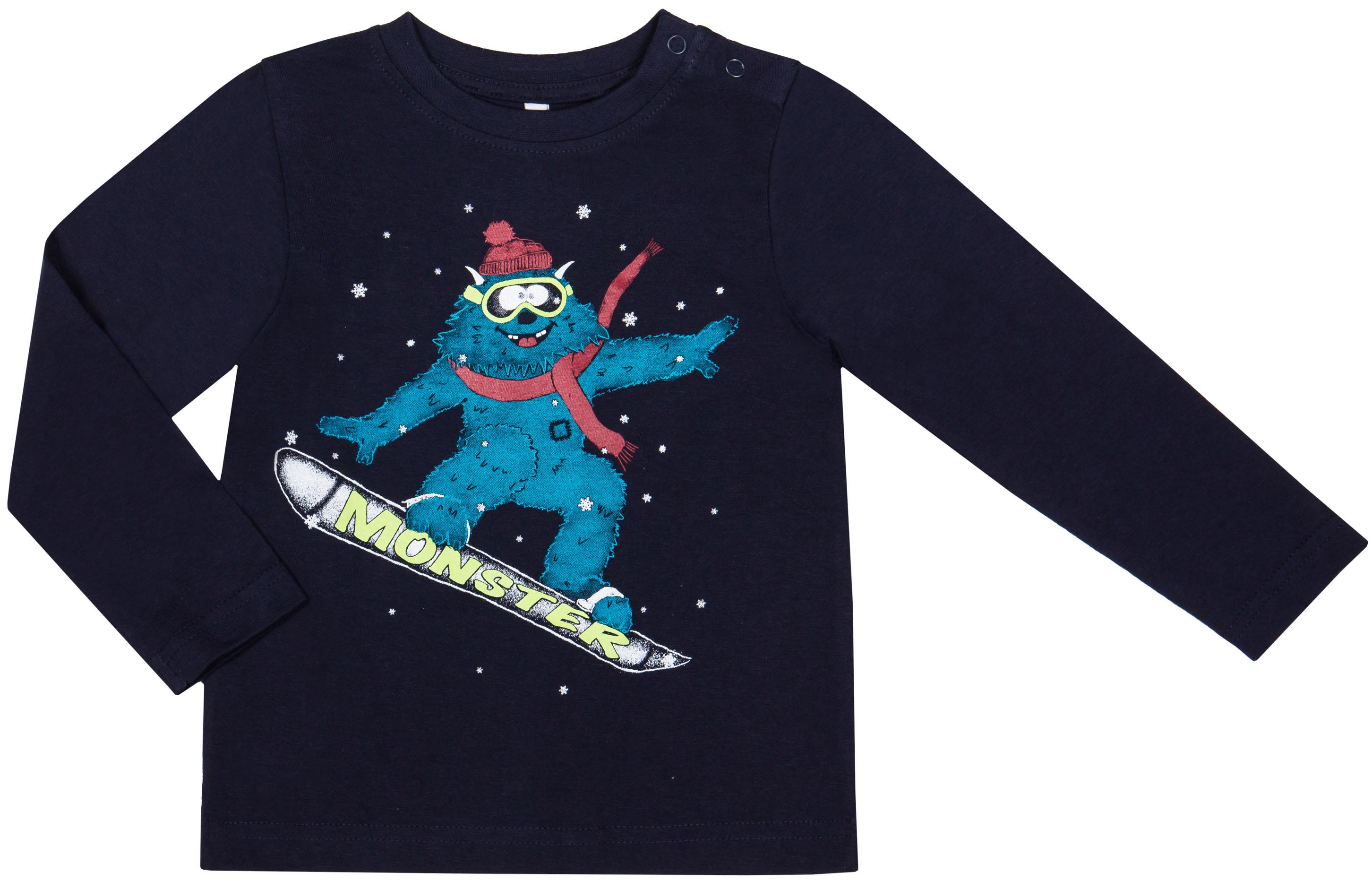Футболки Barkito Космо-монстр футболки barkito футболка с длинным рукавом для мальчика barkito монстр трак синяя