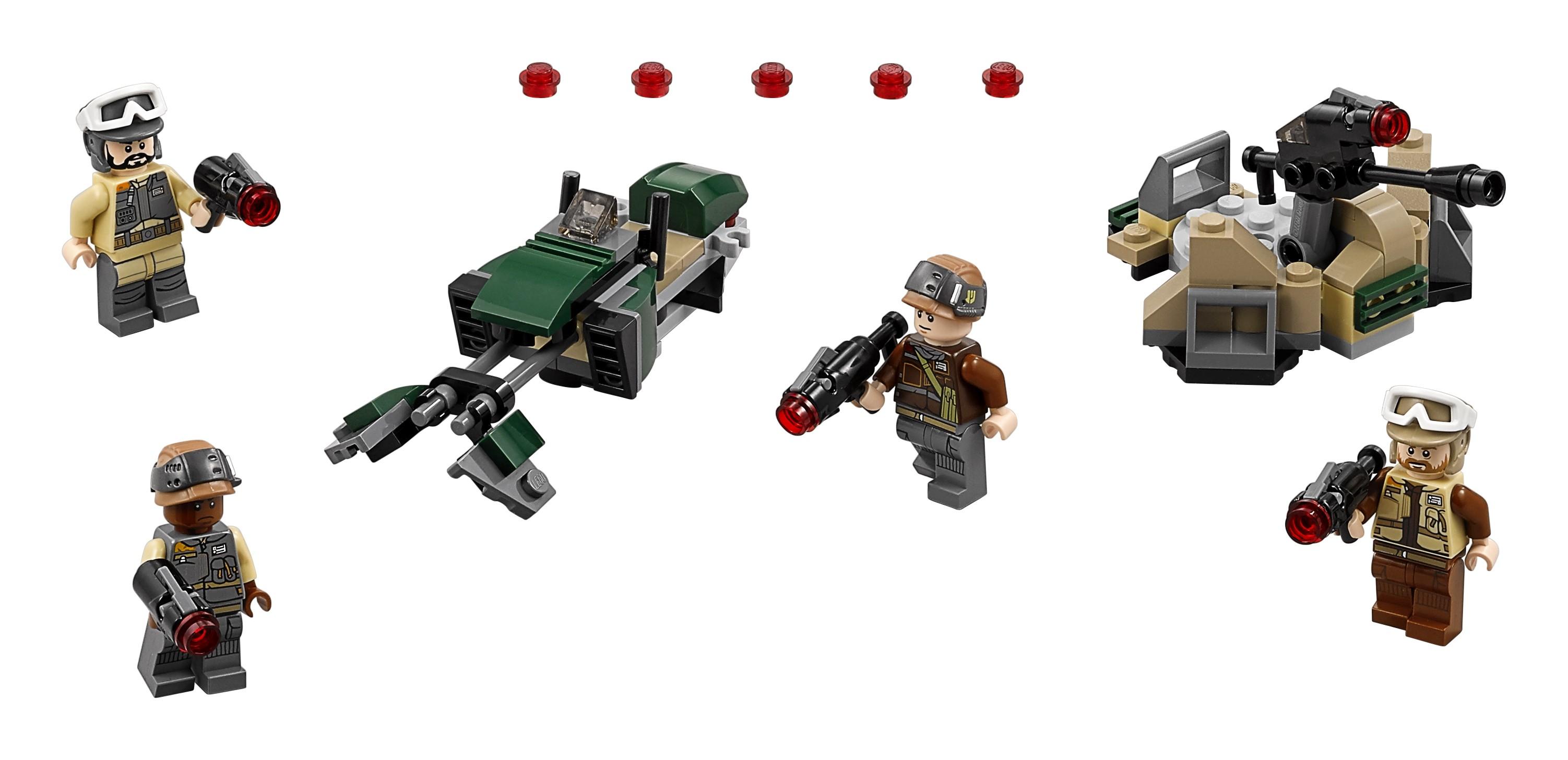 Конструктор LEGO Star Wars 75164 Боевой набор Повстанцев конструктор lego star wars 75132 боевой набор первого ордена