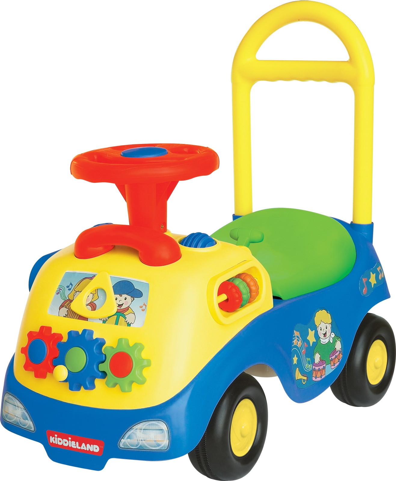 Машинки-каталки и ходунки KIDDIELAND с шестеренками каталки coloma тримарк 2 с панелью