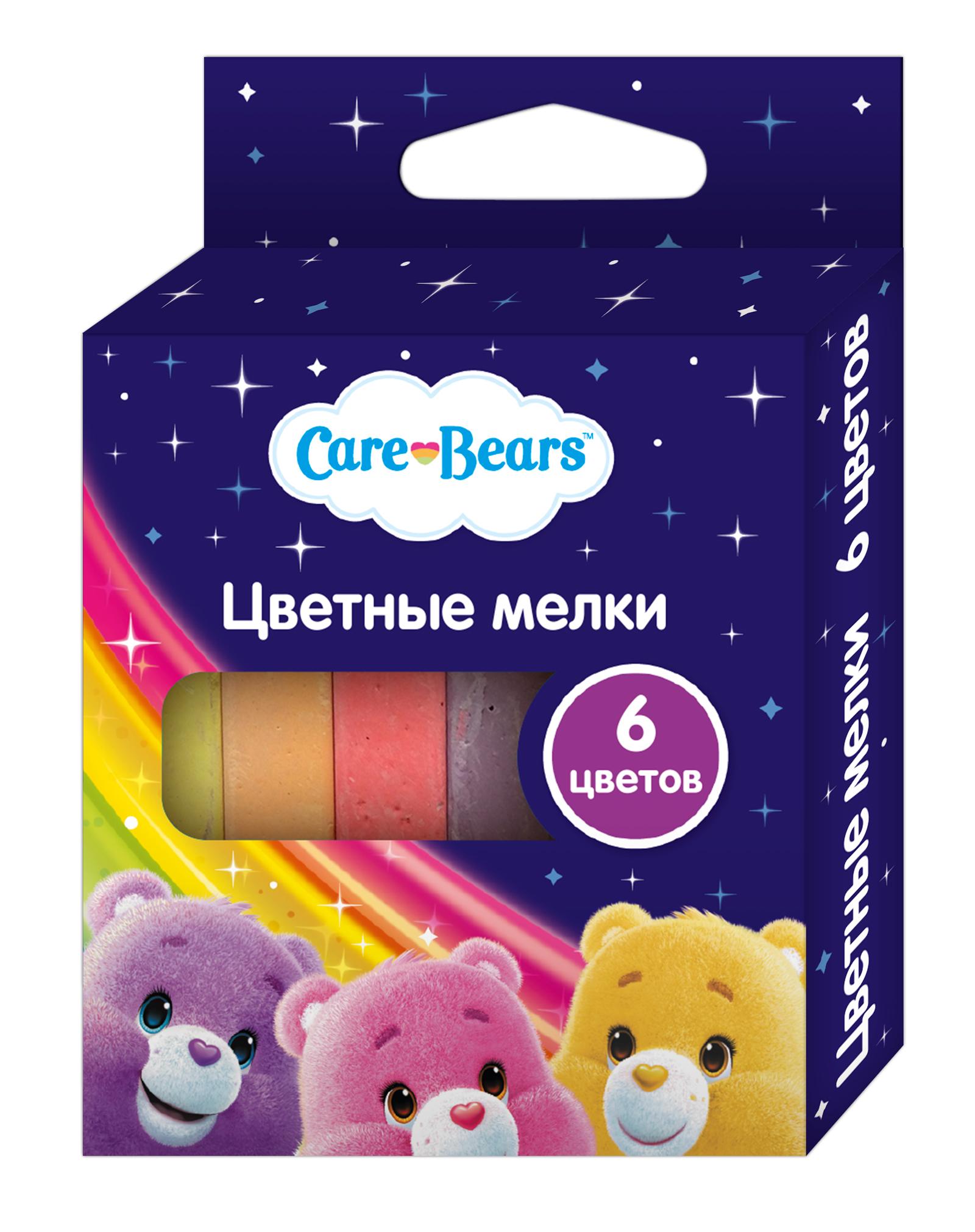 Мелки Care Bears Мелки Care Bears 6 цв.