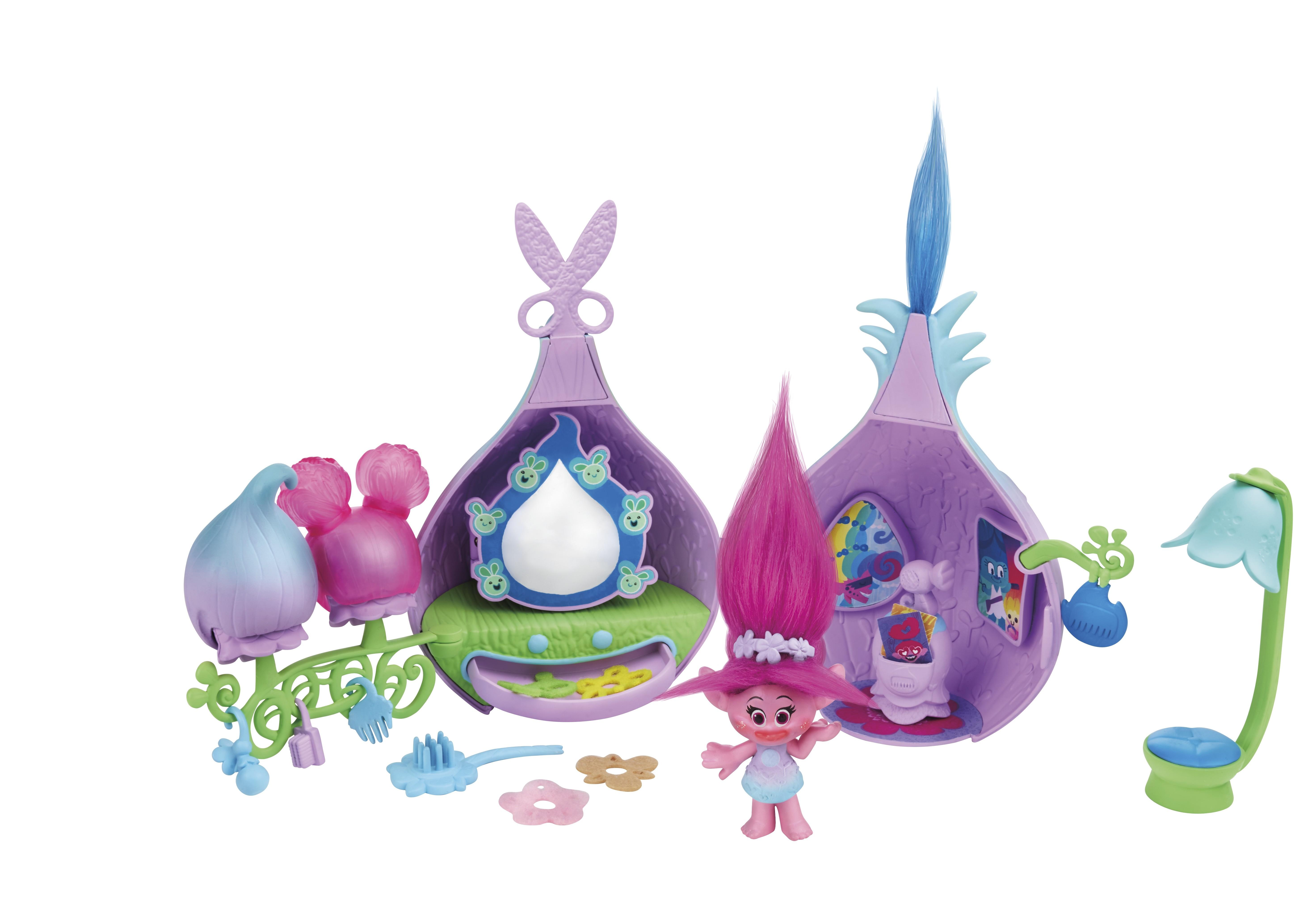 Игровой набор Hasbro Салон красоты Троллей hasbro игровой набор hasbro trolls волшебное дерево троллей