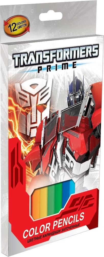 Набор цветных карандашей Transformers Transformers Prime 12 шт набор цветных карандашей transformers prime 12 шт