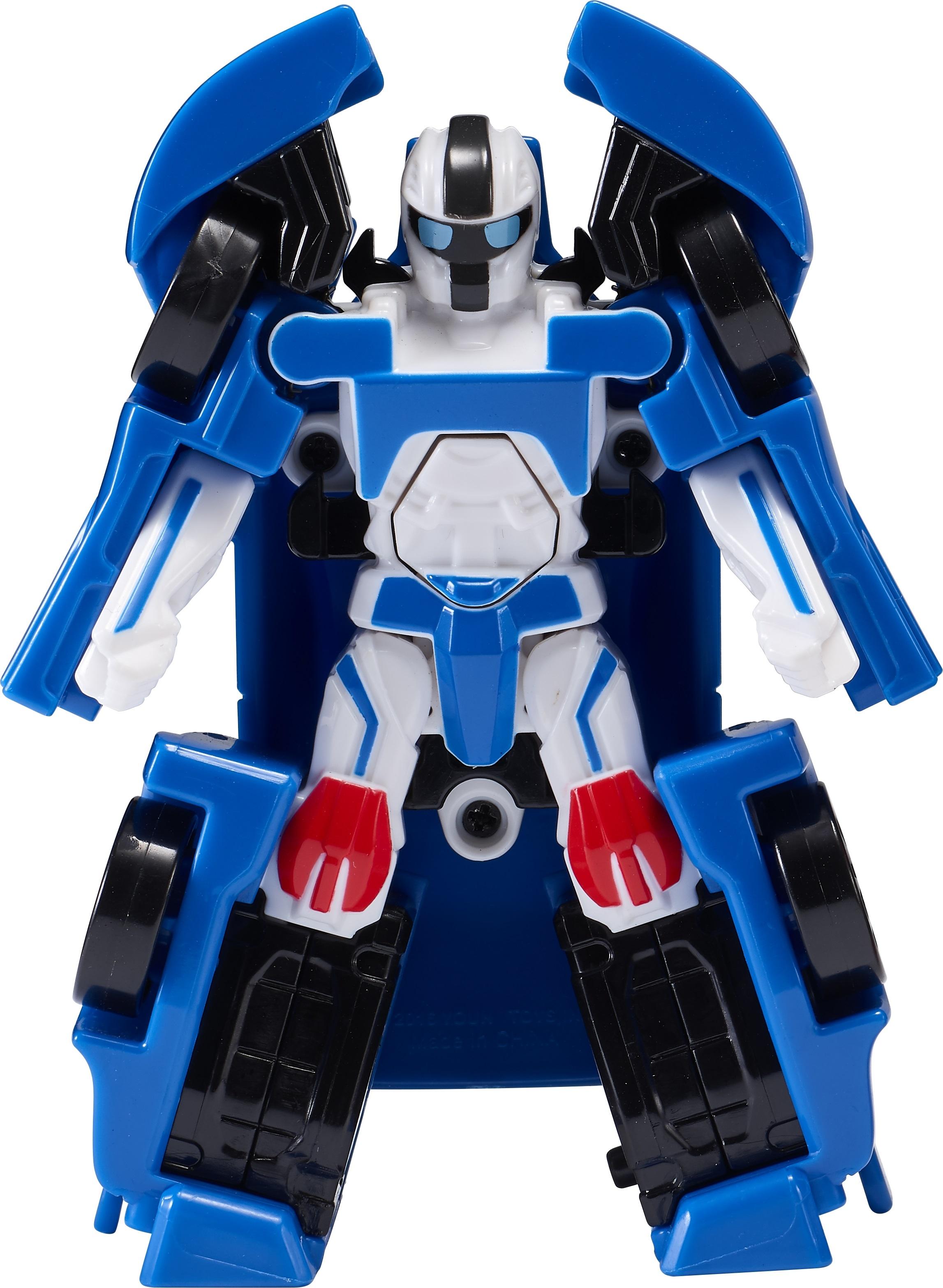 робот-трансформер Tobot Атлон Бета мини S1 синий с черным цена