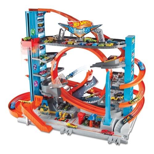 Гаражи и игровые наборы Hot Wheels Ultimate Garage hot wheels dwk99 трансформирующиеся игровые наборы призрачный гараж