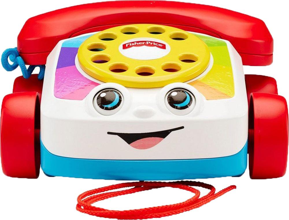 Развивающая игрушка Fisher Price Говорящий телефон на колесах чикко игрушка развивающая говорящий дракон
