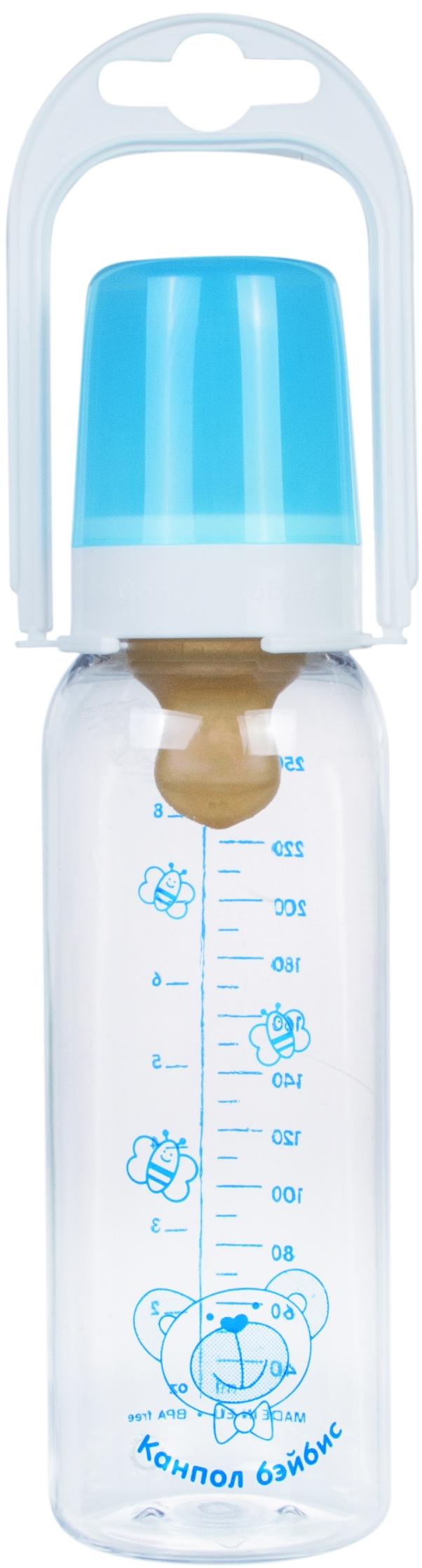 Бутылочка для кормления Canpol babies С соской из латекса 250 мл