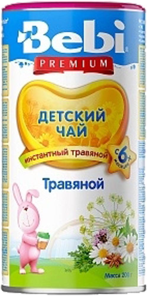 Детский чай Bebi Чай детский Bebi Premium травяной с 6 мес. 200 г чай hipp чай для кормящих матерей 200 г