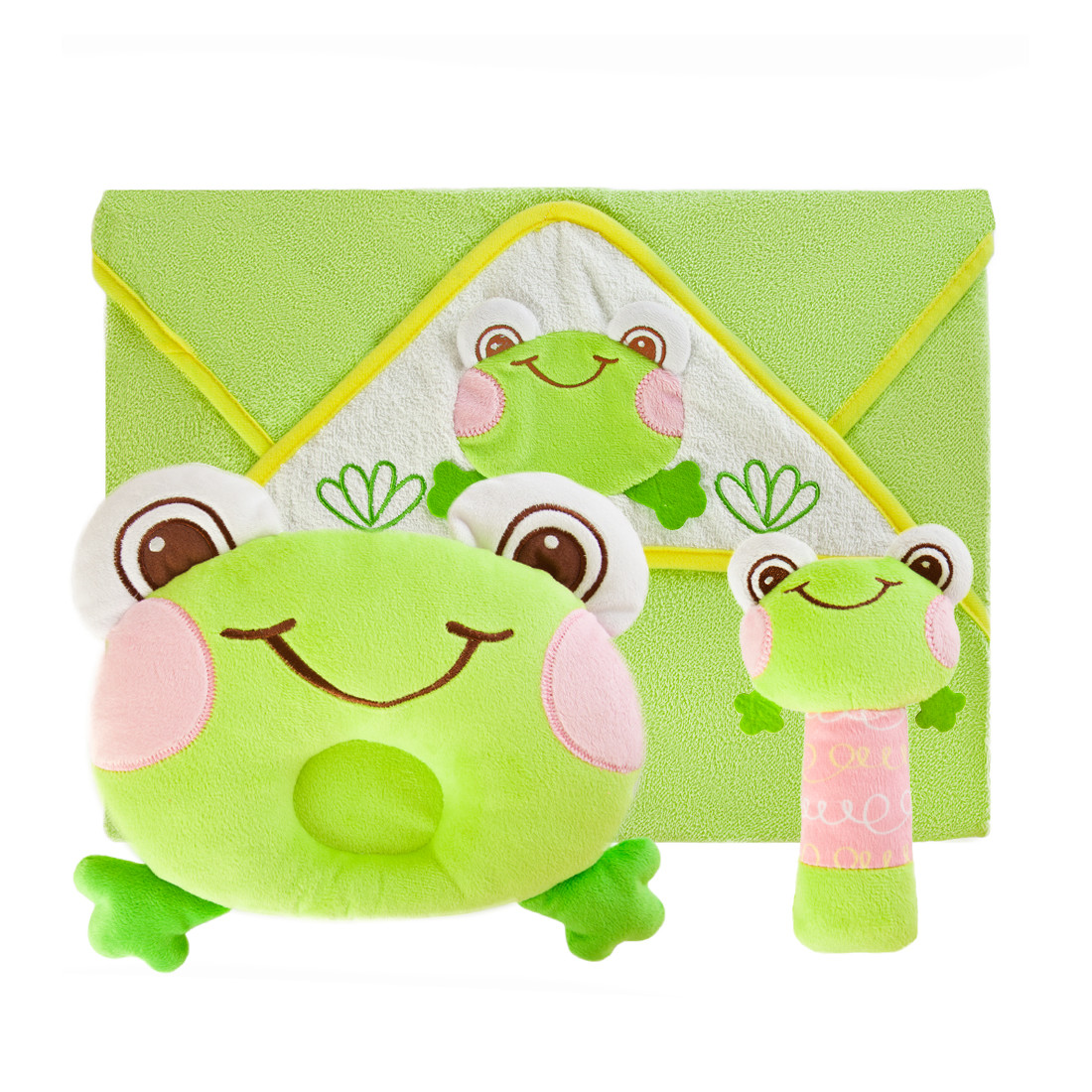 Подарочный набор Наша игрушка Забавный лягушонок арт дизайн подарочный набор открытка с ручкой самой фееричной тебе