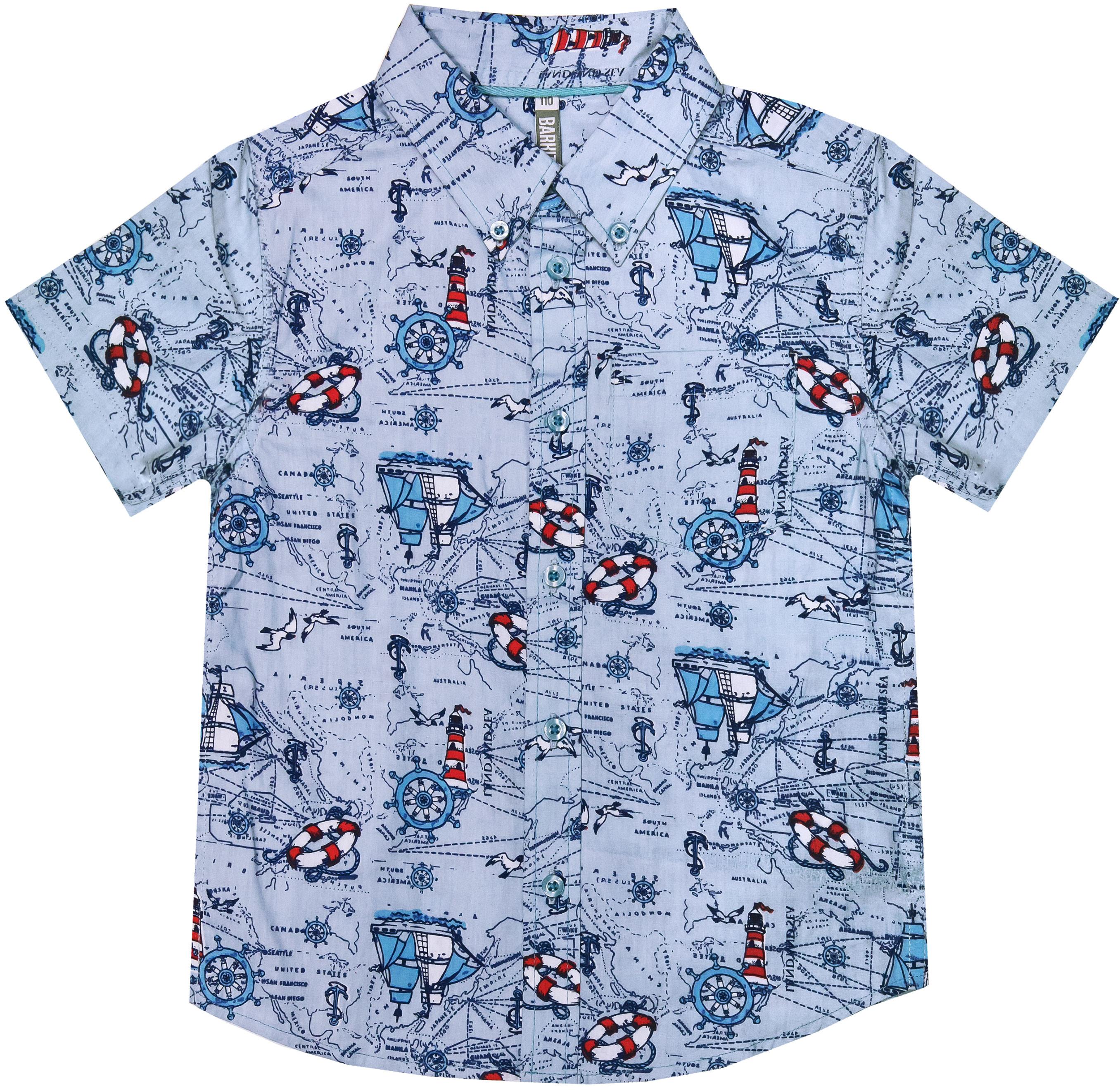 где купить Рубашки Barkito Путешествие S18B4008W(2) по лучшей цене