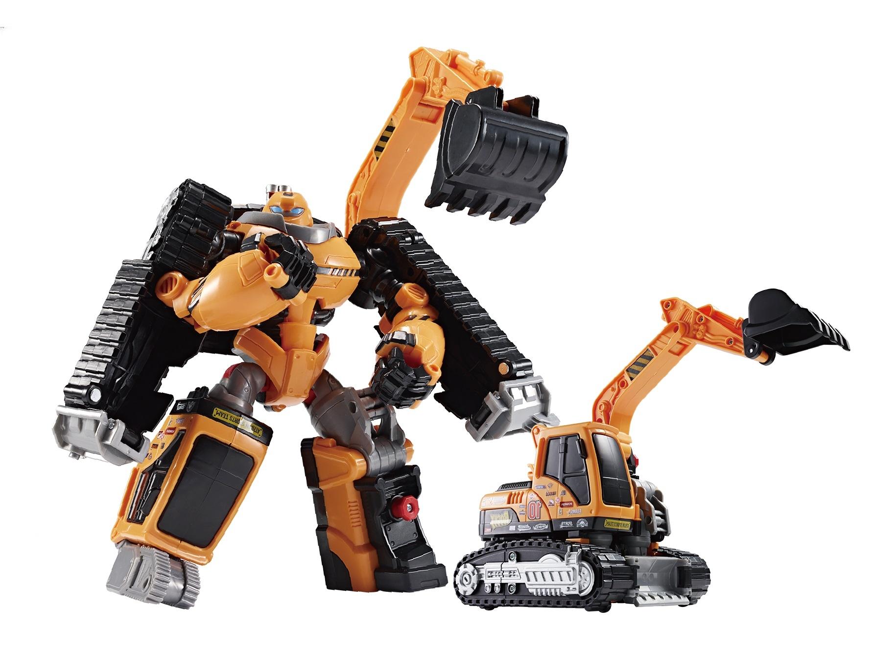 робот-трансформер Tobot Атлон Рокки S2