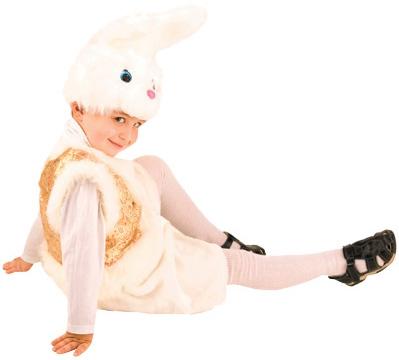 Костюмы и маски Батик Зайчишка Братишка р.26-28 костюм беленького зайчика 26
