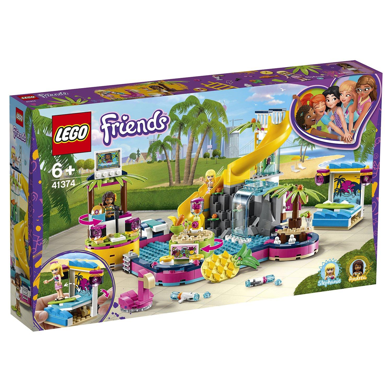 Конструктор LEGO Friends 41374 Вечеринка Андреа  бассейна