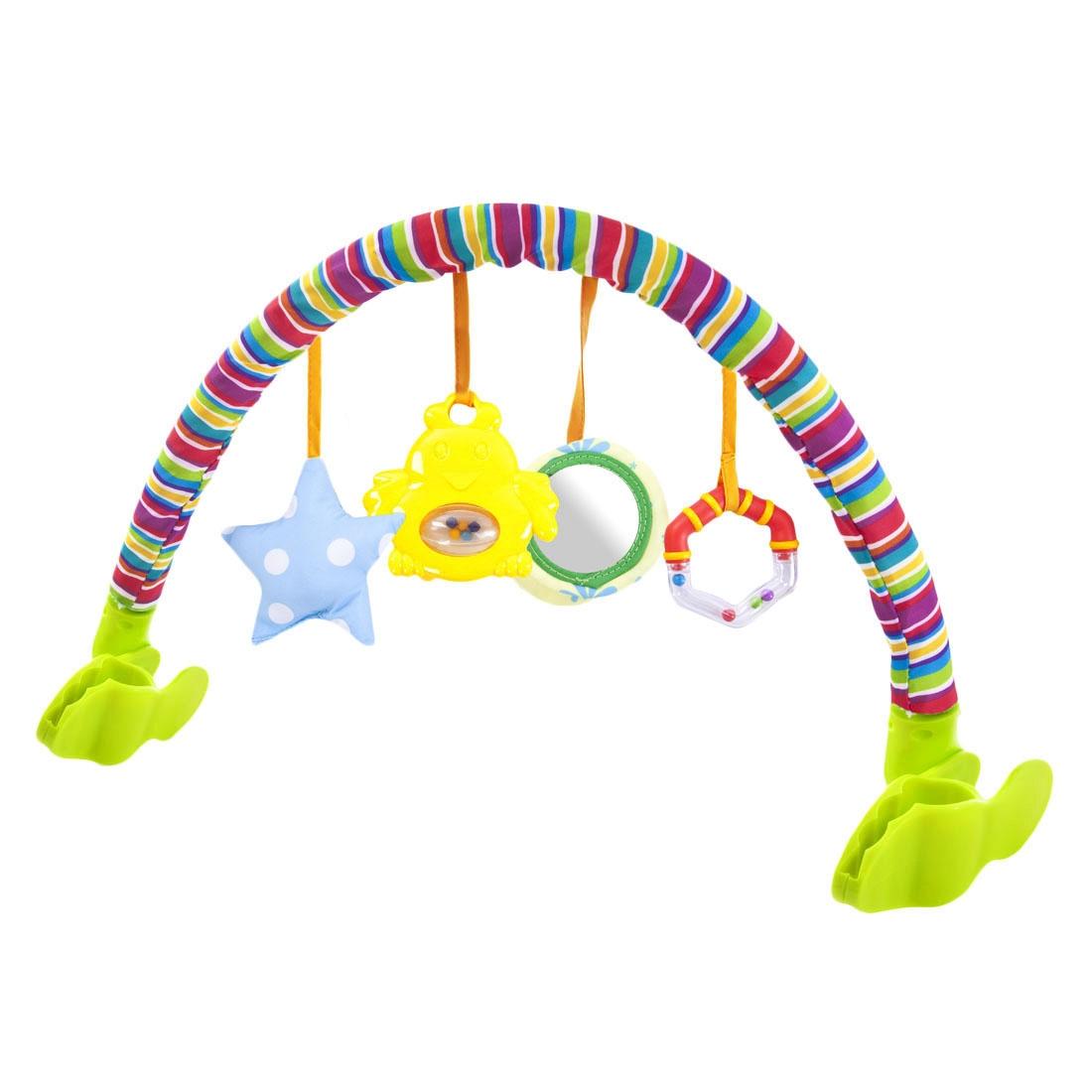 Дуга с подвесками Наша игрушка Лето дуга с подвесками жирафики жирафик дэнни