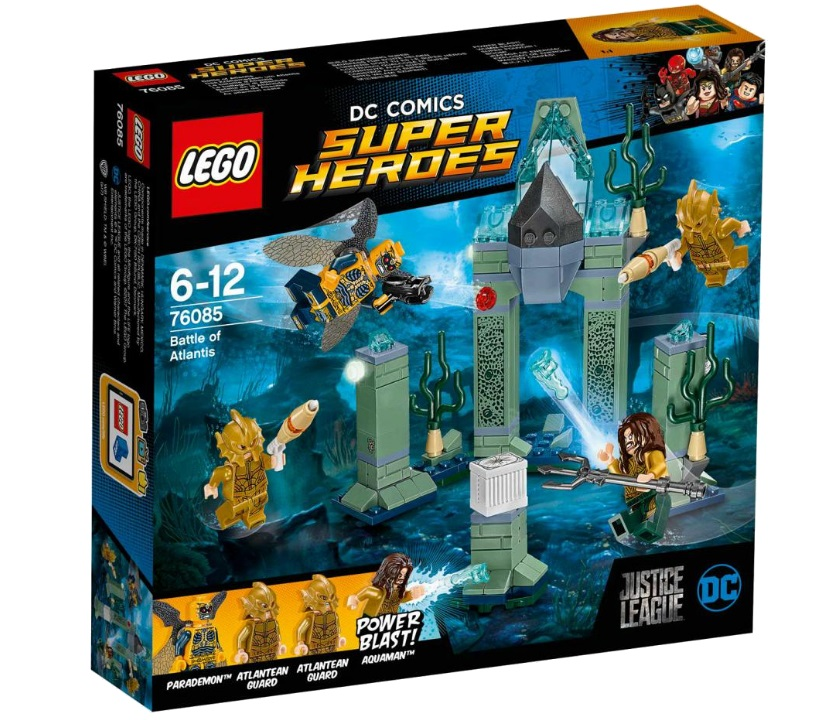 LEGO LEGO Super Heroes 76085 Битва за Атлантиду super heroes batman decool blocks set mr freeze aquaman compatible with lego marvel models building toys