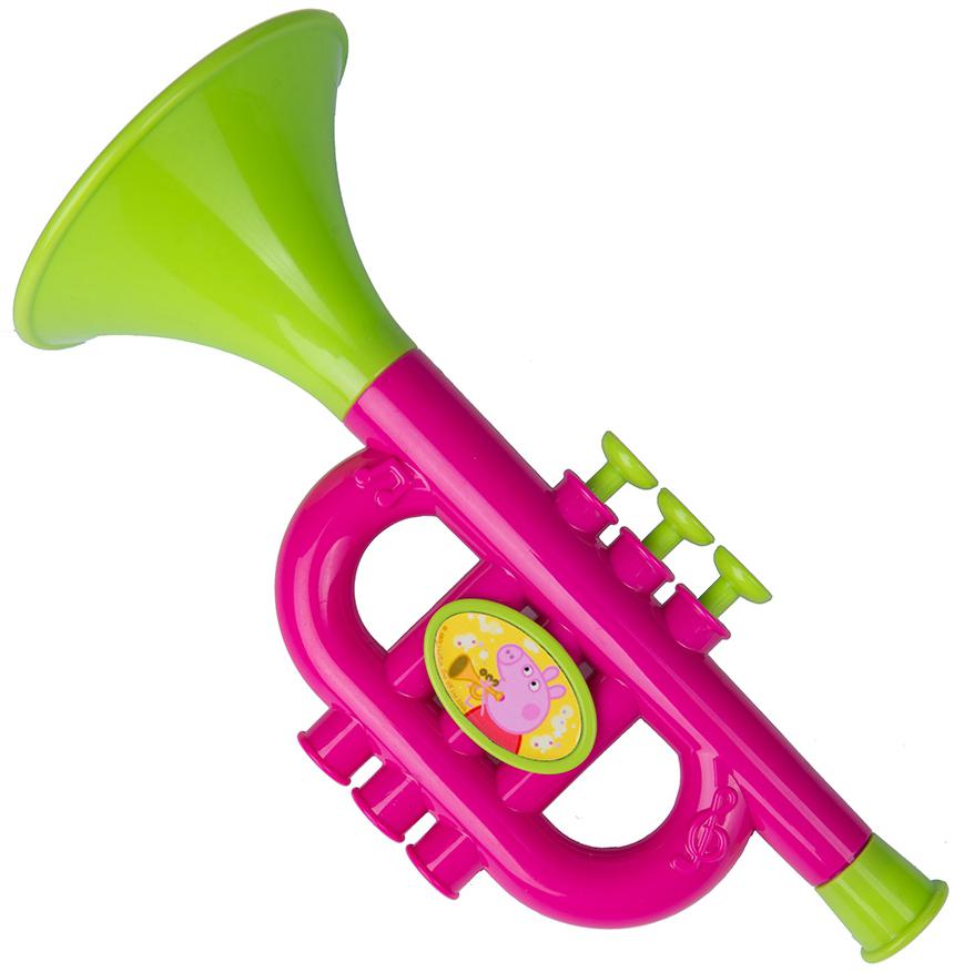 Детские музыкальные инструменты Peppa Pig Труба музыкальные игрушки мир детства волшебная труба