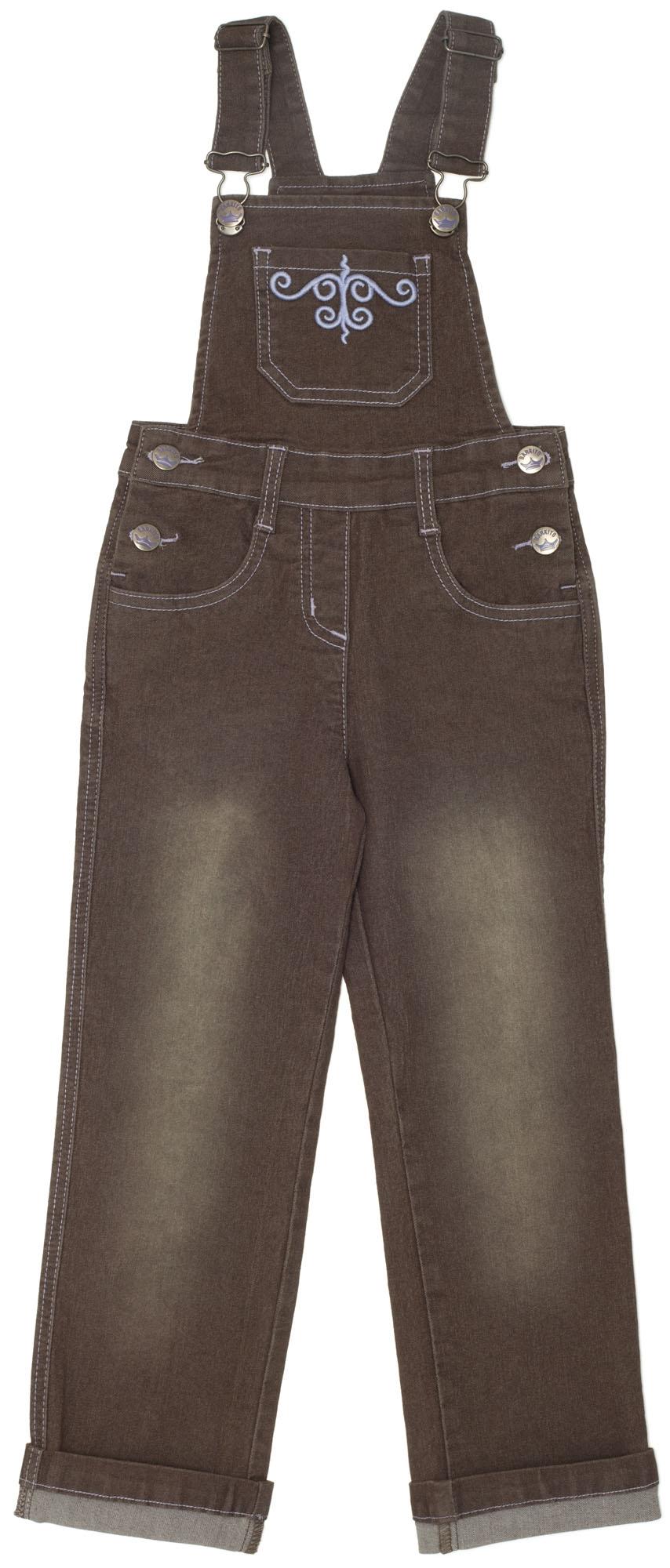 Полукомбинезоны Barkito Полукомбинезон джинсовый для девочки Арктика Barkito какао полукомбинезоны для новоржденных