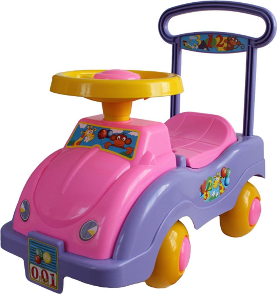 цена Машинки-каталки и ходунки Спектр Автомобиль для девочек